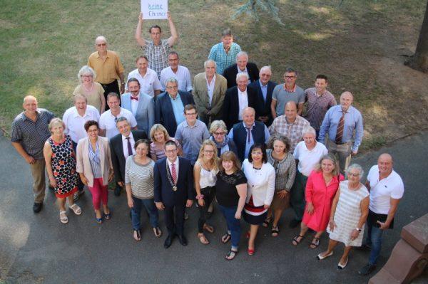 Weinheim – Der Weinheimer Gemeinderat hat sich konstituiert – OB Just bekräftigt die Inhalte der Resolution für Menschenwürde und kulturelle Vielfalt