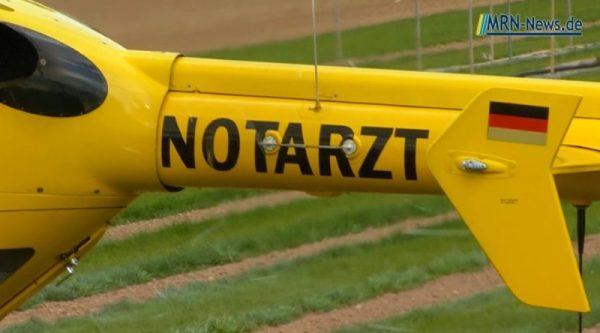 Rhein-Pfalz-Kreis – Arbeitsunfall bei der Fa.Zeller in Mutterstadt
