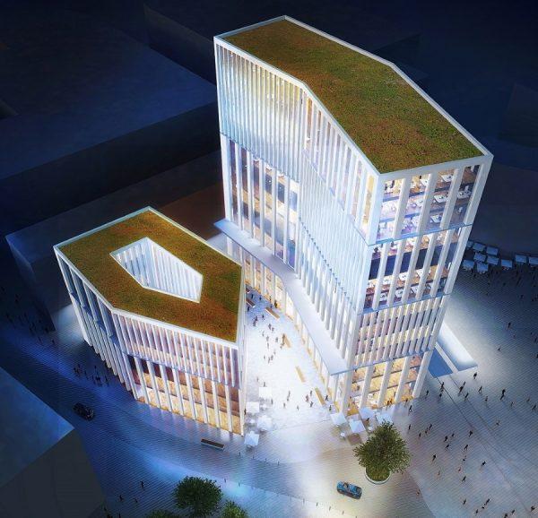 Ludwigshafen – Planung für Hochhausbebauung am Berliner Platz verschiebt sich nach hinten