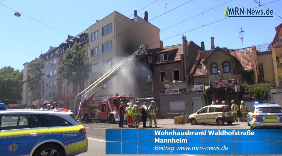 Mannheim Brand Heute