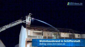 Schifferstadt – VIDEO NACHTRAG – Wohnhausbrand – Kriminalpolizei ermittelt – Zeugen gesucht