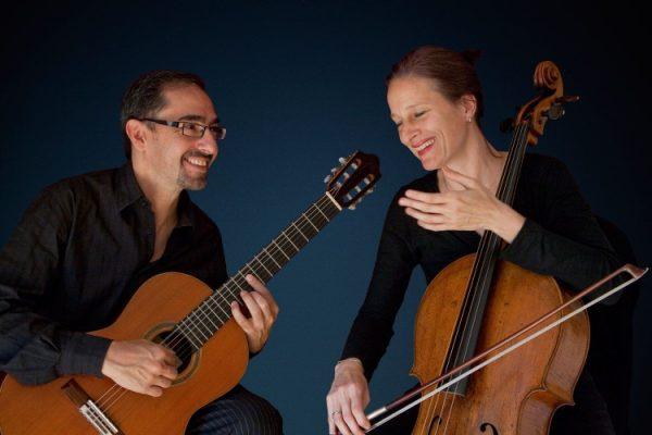"""Walldorf – Die Nacht steht am Anfang – Duo Anja Lechner und Pablo Márquez eröffnet die """"Walldorfer Musiktage"""""""
