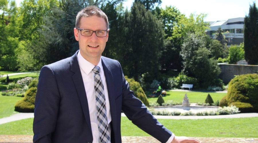 Weinheim – Weinheims Oberbürgermeister Manuel Just ist am 20. August genau 100 Tage im Amt