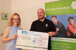 Mannheim – 2.056 Euro Spende für KinderHelden