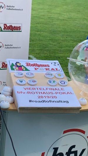 Mannheim – Achtelfinale im bfv-Pokal terminiert