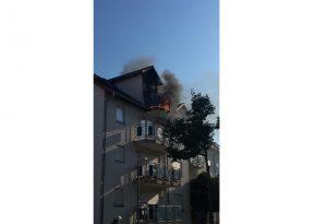 Ludwigshafen – Erstmeldung: Balkonbrand in Ruchheim