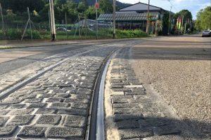 Leimen – Teilsperrung der Straßenbahnstrecke wegen Gleisschäden