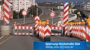 Ludwigshafen – VIDEO NACHTRAG – Sperrung Hochstraße Süd – Konrad Adenauer Brücke nach Mannheim ist ab Mundenheimer Straße offen