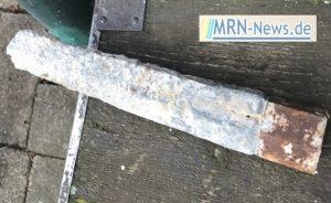 Ludwigshafen – NACHTRAG – Bombenfund offiziell bestätigt – 125kg Stabbrandbombe englisches Fabrikat