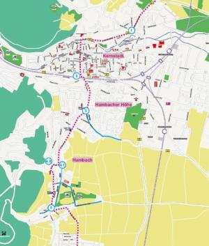 Neustadt/Weinstraße – Erlebnistag Deutsche Weinstraße – Querungsstellen für den motorisierten Verkehr im Bereich Neustadt