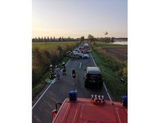 Worms – Verkehrsunfall auf der #L437 fordert 2 Schwerverletzte – Zeugen gesucht