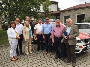 Ladenburg – FDP vor Ort: Integrierte Leitstelle Rhein-Neckar in Ladenburg