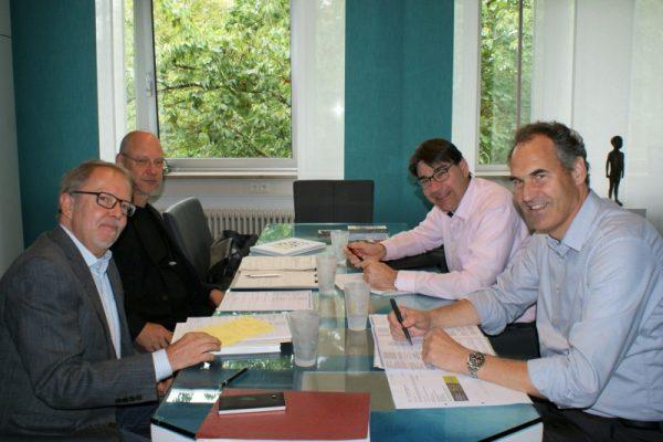 Landau – Interkommunale Kooperationen sichern Daseinsvorsorge für Bürgerinnen und Bürger: OB Hirsch und Landrat Seefeldt führen Expertengespräch zur Kommunal- und Verwaltungsreform in Rheinland-Pfalz