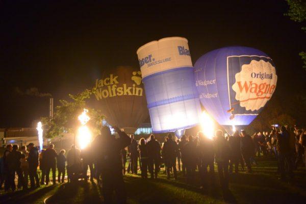 Frankenthal – Wettbewerb und Show rund um den Heißluftballon – Vierte Auflage von Dubbe Goal am 14.September