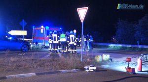Landkreis Bad Dürkheim – Video Nachtrag – Schwerer Motorradunfall in Haßloch – 26jähriger lebensgefählich verletzt