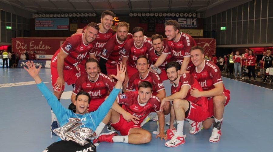 Ludwigshafen – Die #Eulen Ludwigshafen feiern nach bestem Bundesligaspiel einen Heimsieg gegen Leipzig