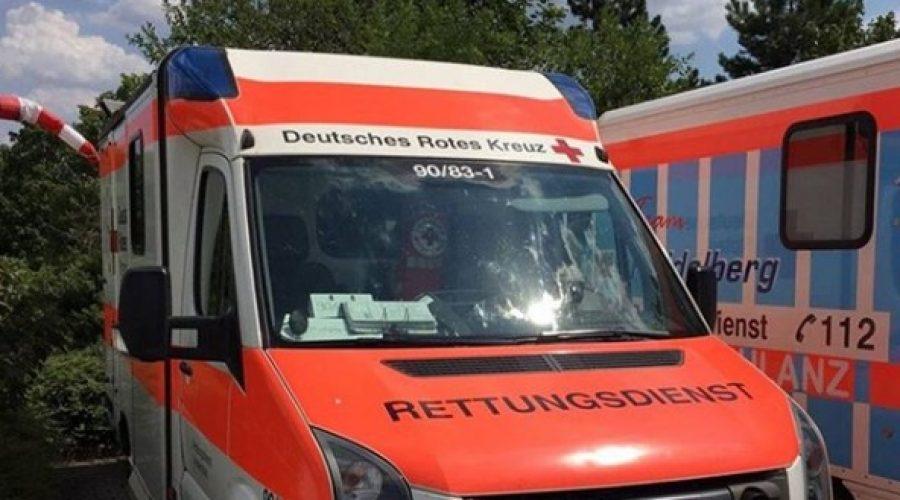 Ludwigshafen – Torbjörn Kartes MdB mit dem Notarzt im Einsatz in Ludwigshafen