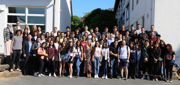 Worms – 70 neue Austauschstudierende aus 20 Ländern!