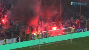 Mannheim – SV Waldhof 07 korrigiert seinen Medienpartner Mannheimer Morgen – Beim SVW07 brennt nicht mehr das Stadion dafür das Gebälk