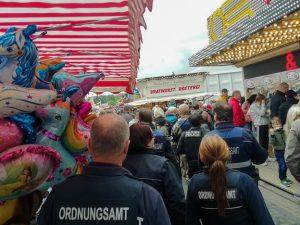 """Bad Dürkheim – Start der Reportage """"Auf Streife mit dem Kommunalen Vollzugsdienst vom Ordnungsamt"""""""