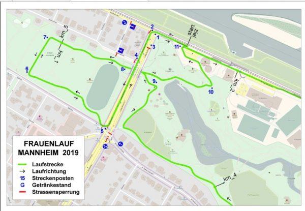 Mannheim – 6. engelhorn sports Frauenlauf Mannheim am 13.September