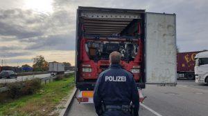 Ludwigshafen – Widerrechtlicher Abfalltransport auf der #A61 bei Dannstadt-Schauernheim gestoppt