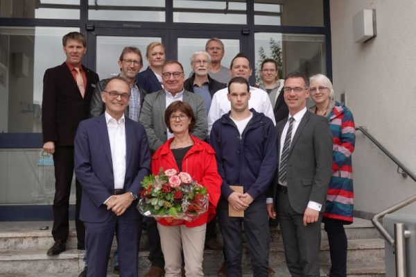 Germersheim – Dreimal 40-jähriges Dienstjubiläum