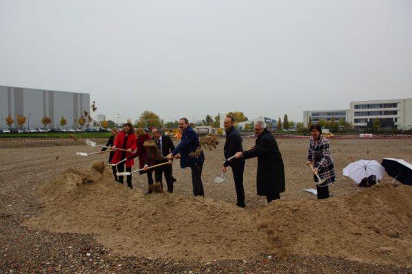 Ludwigshafen – Hochschule für Wirtschaft und Gesellschaft Ludwigshafen: Campus-Erweiterung – Spatenstich für den Neubau