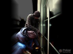 Schwetzingen – Einbrecher kamen über die Terrassentür