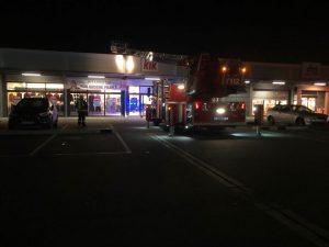 Ludwigshafen – AKTUELL Einsatz Feuerwehr in Einkaufszentrum Rheingönheim