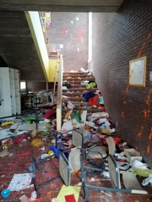 Worms – Vandalismus in der Pfrimmtal Realschule Plus Worms