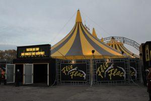Mannheim – Der Flic Flac-Circus gastiert bis zum 23. November 2019 in Mannheim auf dem Neuen Messplatz