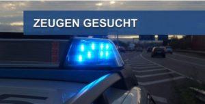 Mannheim – Unfall auf #A6, Verursacher flüchtet –  Zeugen dringend gesucht