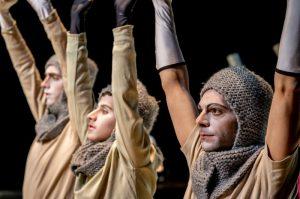 Ludwigshafen – Tilman Gerschs Inszenierung von Götz von Berlichingen am 22. und 23.11.2019 im Theater im Pfalzbau