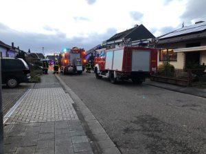 Dannstadt-Schauernheim – NACHTRAG:  Feuerwehr findet nach Löscharbeiten tote Person im Haus