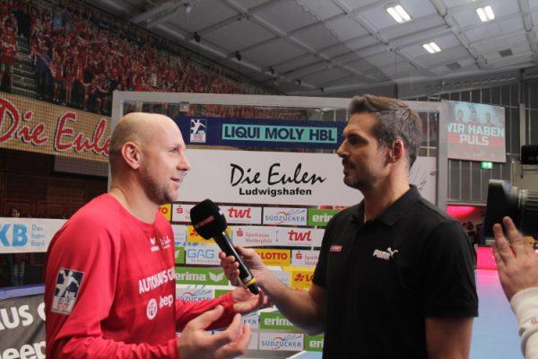 Ludwigshafen – Die Handballer der Eulen Ludwigshafen verlieren trotz starker Leistung gegen Hannover