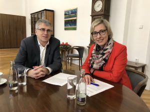 Speyer – Oberbürgermeisterin berät sich mit Altlußheimer Kollege – Bürgerinfo zu Salierbrücke am 29. Januar 2020