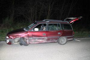 Schwegenheim – Unfall auf der #L537 mit mehreren Fahrzeugen