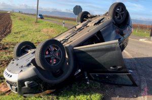 Edenkoben – Vermutlich war eine defekte Bremse Schuld an Unfall in Freimersheim