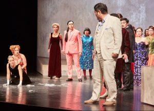 Ludwigshafen – Giuseppe Verdis Oper La Traviata in einer gefeierten Aufführung des Pfalztheaters Kaiserslautern am 7. und 9.2. im Theater im Pfalzbau