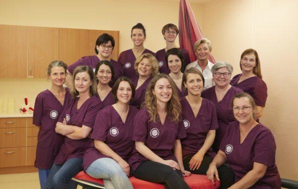 Schwetzingen – Beleghebammenteam der GRN-Klinik Schwetzingen feiert sein fünfjähriges Jubiläum