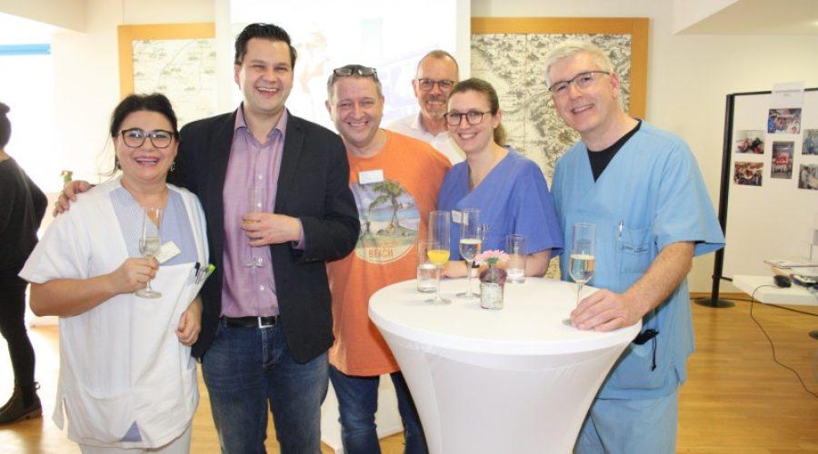 Schwetzingen – Erster Neujahrsempfang der GRN-Klinik Schwetzingen stößt auf gute Resonanz