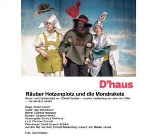 Ludwigshafen – Kinderstück Räuber Hotzenplotz und die Mondrakete im Theater im Pfalzbau