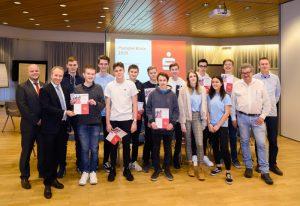 Ludwigshafen – Planspiel Börse der Sparkasse Vorderpfalz: Schülerteams aus Speyer gewinnen