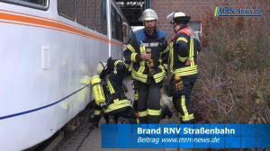 Ludwigshafen – Schmorbrand an Straßenbahn im RNV Betriebshof