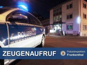 Frankenthal – Zeugen gesucht: Räuberische Erpressung am Stephan-Cossacchi-Platz