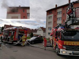 Frankenthal – Küchenbrand in der Eichendorffstraße