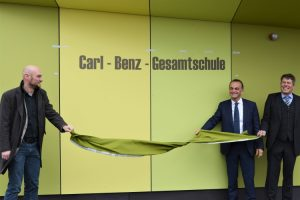 Germersheim – Neues Gebäude – neuer Name: Oberstufen-Neubau der Carl-Benz-Gesamtschule Wörth eingeweiht