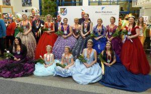 Ludwigshafen – Empfang der Karnevalsprinzessinnen im Kreishaus