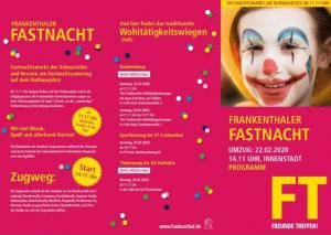 Frankenthal – Fassenacht 2020 in Frankenthal am 22.02.2020